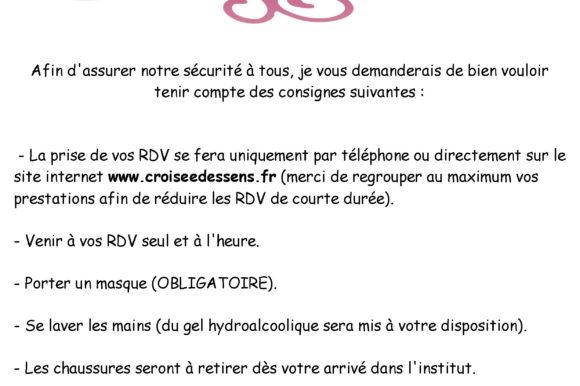 Information Clientèle COVID-19