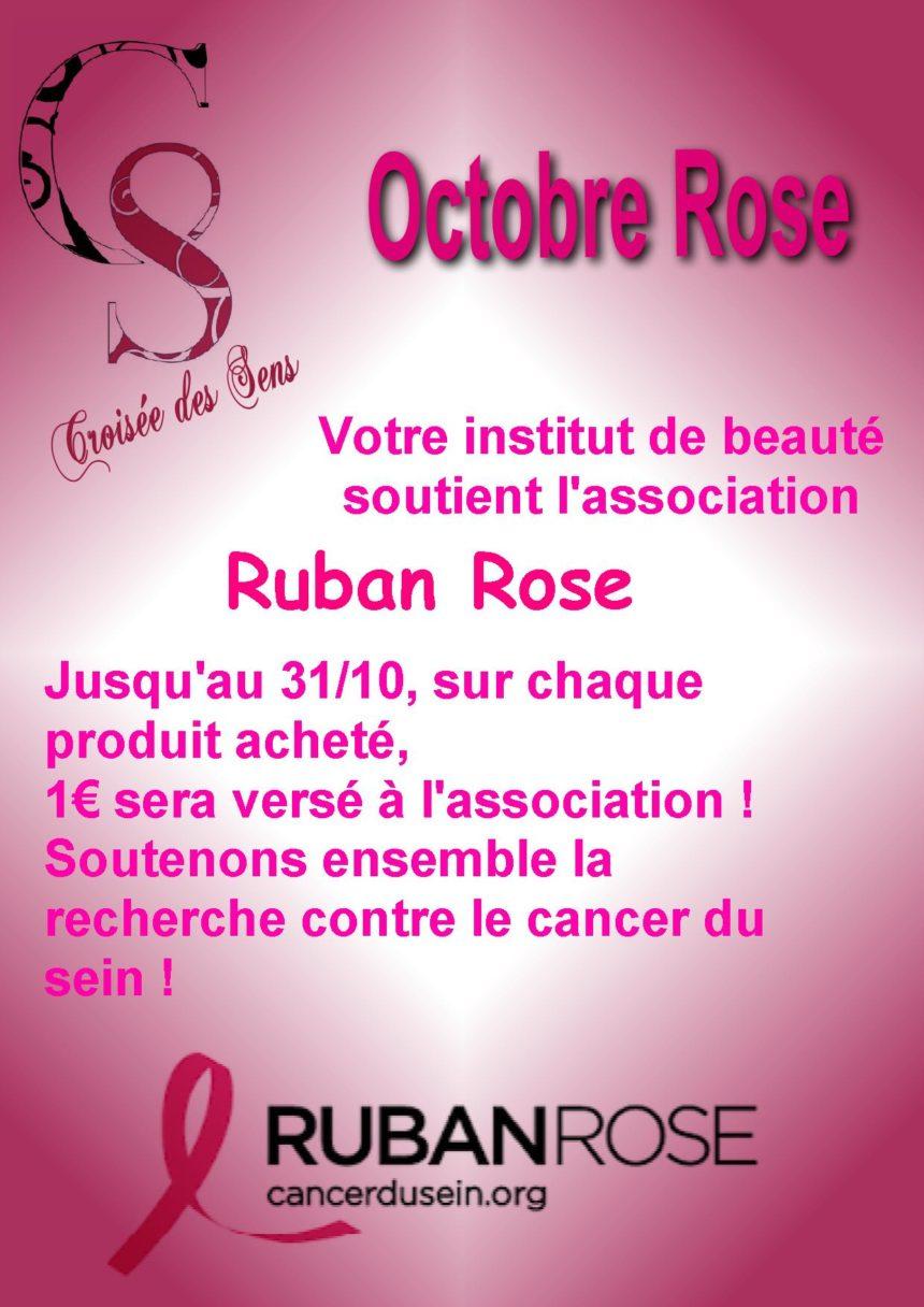 Octobre Rose !